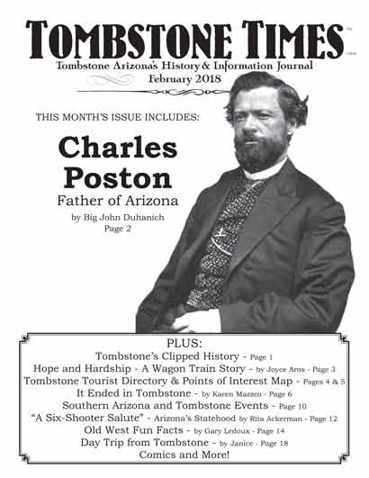 Tombstone Times February 2018 issue