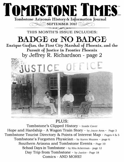 Tombstone Times - September 2017