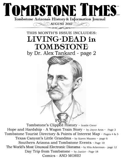 August 2017 issue of Tombstone Times