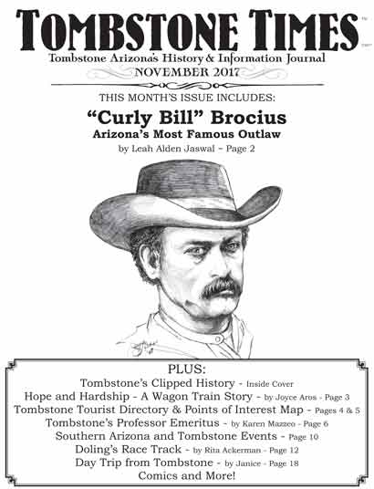 Tombstone Times November 2017 issue